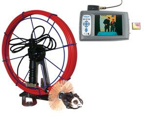 CCTV chimney survey camera and inspection equipment