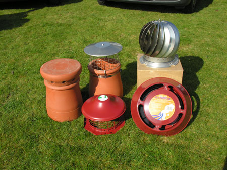 A selection of our Cowls & Bird Guards